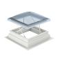 Flachdach-Fenster RWA  Am RWA Flachdachfenster CSP ist bereits fix ein 160 mm Aufsetzkranz montiert, ergibt eine Gesamthöhe von 310 mm