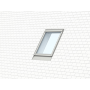 Profiset inkl. EDN / BDX / BFX 78 cm x 160 cm Verblechung Aluminium für flache Bedachungsmaterialien bis 16 mm (2x8 mm) Vertiefte Einbauhöhe (blaue Linie)