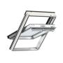 Schwingflügelfenster Holz 47 cm x 98 cm Kiefernholz weiss lackiert Verblechung Aluminium Verglasung 3-fach Thermo 2