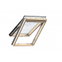 Klappflügelfenster Holz 55 cm x 98 cm Kiefernholz klar lackiert Verblechung Kupfer Verglasung 2-fach Thermo 1