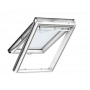 Klappflügelfenster PU 78 cm x 160 cm Polyurethan-Oberfläche mit Holzkern Verblechung Aluminium Verglasung 3-fach Thermo 2 Plus das Dachfenster für die Schweiz