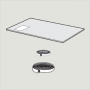 2-fach Verglasung, Thermo 1 55 cm x 118 cm
