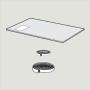 Verglasung 3-fach Typ --62 78 cm x 160 cm Für erhöhte Anforderung an die Schalldämmung