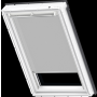 Sichtschutzrollo white line Natur 66 cm x 98 cm